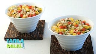 Barley and Corn Salad by Tarla Dalal