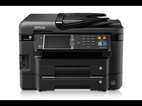 Epson WF- 3640 - How To Clean Printhead - error code 0x97- Solved