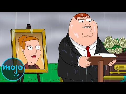 Top 10 Saddest Moments On Family Guy