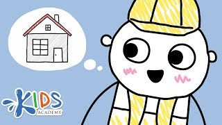 Construction Workers - Social Studies for Kids   Kids Academy