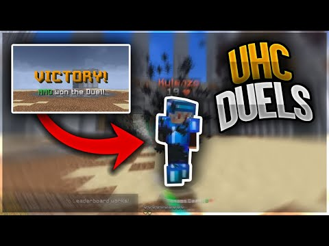 Sweating on UHC duels | Hypixel