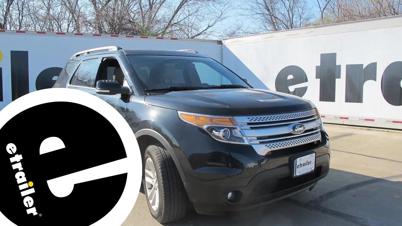 Best 2016 Ford Explorer Roof Rack Options Etrailer