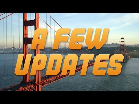 A Few Updates - Thank Yous, My Trip To California & A Sponsorship!