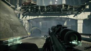 Crysis 2: PlayStation 3 Gameplay