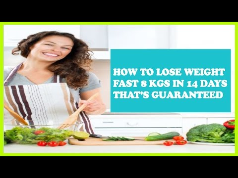 HOW TO LOSE WEIGHT FAST 8Kgs in 14 Days – Program and Plan – The Best 2 Week Diet Book