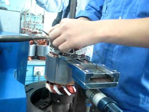 Máy khâu dây mô tơ - động cơ điện www.MinhMotor.com.AVI