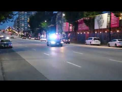 2016 Dodge Charger responding with Lights & Sirens