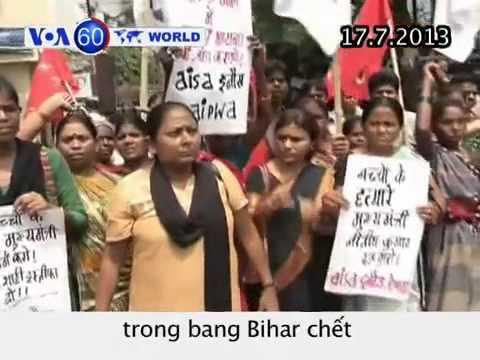 20 trẻ em Ấn Độ chết sau khi ăn trưa tại trường (VOA60)