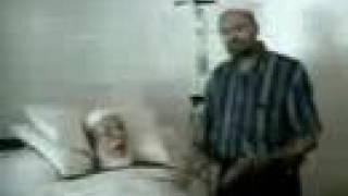 فارس الدعوة احمد ديدات على فراش الموت