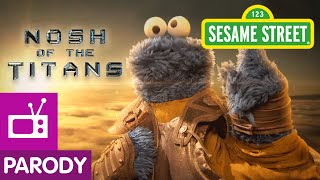 Sesame Street: Nosh Of The Titans (Cookie Crumby Pictures)