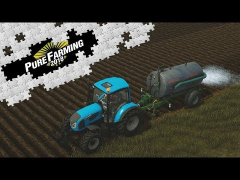 Pure Farming 2018 - Saving The Crop From Drought (No Commentary)