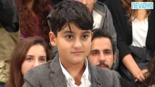 9 yaşındaki Yamaç, Kılıçdaroğlu'nu terletti
