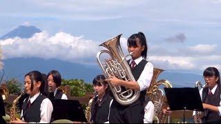 韮山高校 吹奏楽部 「シュガーソングとビターステップ」