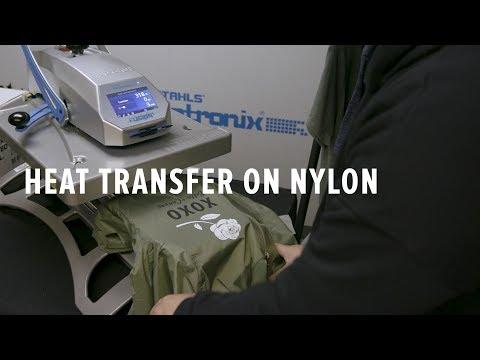 How To Heat Transfer On Nylon