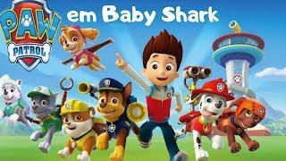 Patrulha Canina em Baby shark - Pimenta Kids TV