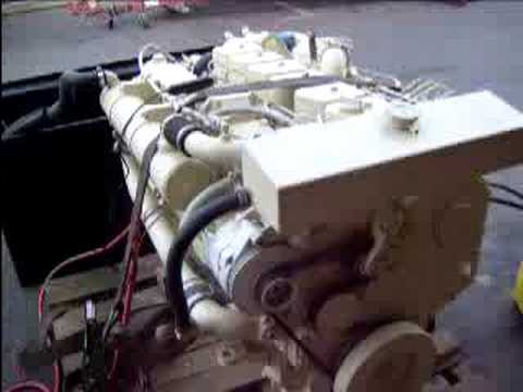 Cummins 6BTA 59 M2 Marine Engine 1 of 2 - YouTube