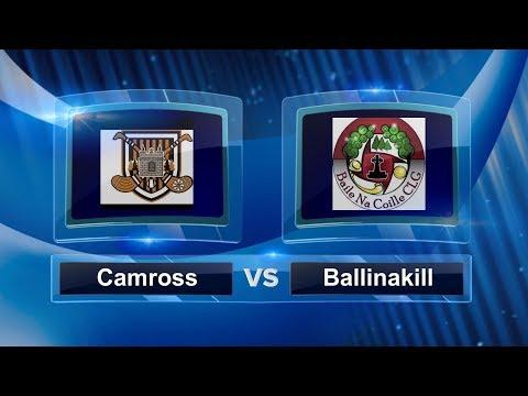 Laois SHC QF 2017: Camross v Ballinakill Gaels