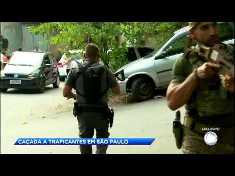 Equipe da Record TV acompanha caçada a traficantes em São Paulo