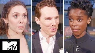 AVENGERS: INFINITY WAR Cast Talk Upcoming DEATH SCENES | MTV Movies