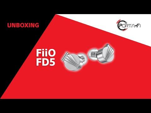 FiiO FD5 Unboxing | Porta-Fi™
