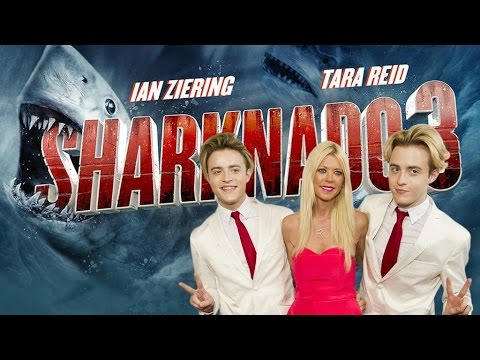 Jedward don't want to see a Sharknado 4 without Tara Reid