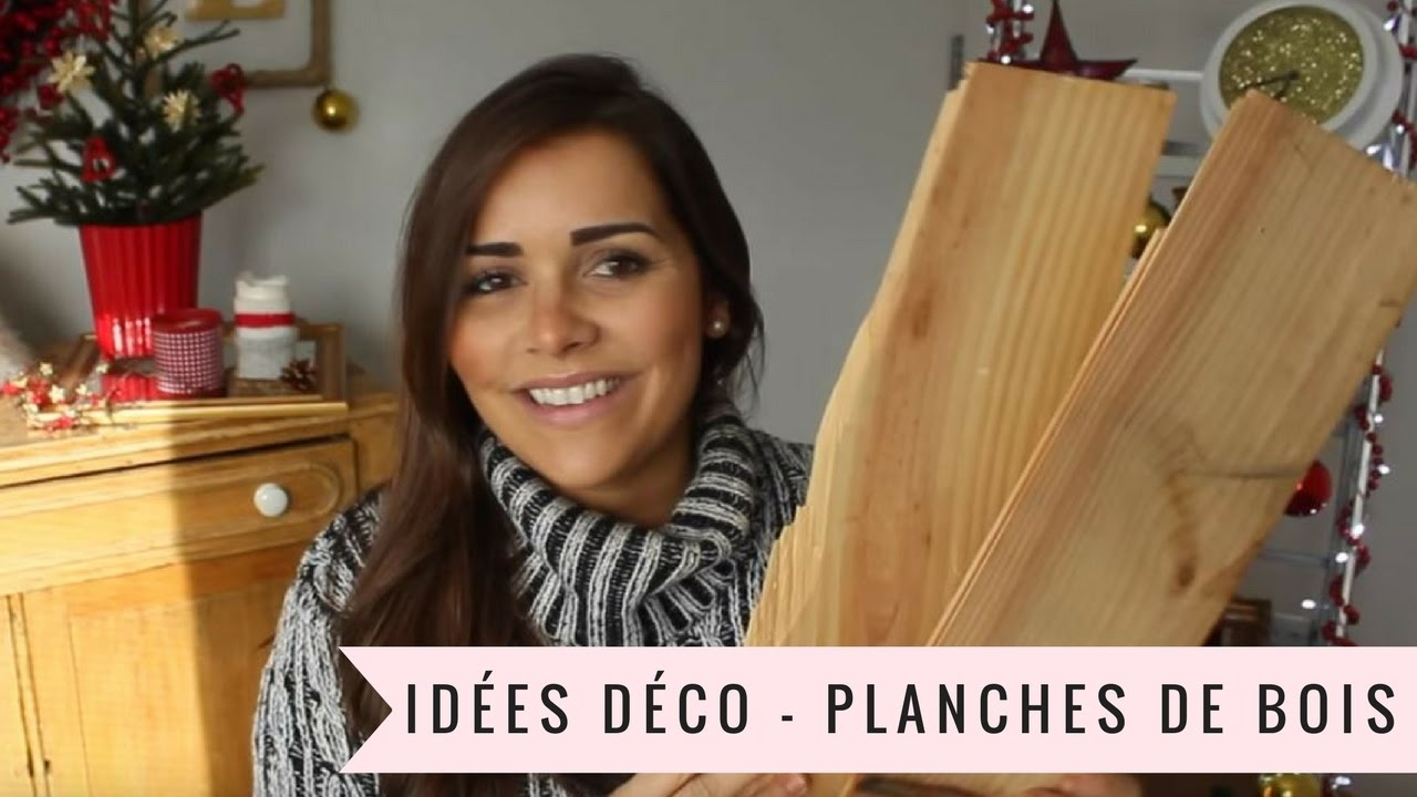 Id es d co planches de bois avec lie duquet youtube - Idee deco recuperation ...