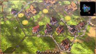 The Settlers 2: Vikings - Mission 5 - Walkthrough Gameplay PC