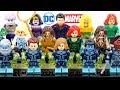 Aquaman & Captain Marvel Starforce Kree Team Unofficial LEGO Minifigures