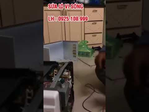 Sửa chữa lò vi sóng tại nhà ở Hà Nội giá rẻ uy tín. Bảo hành sau khi sửa