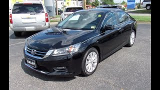 2014 Honda Accord EX-L Walkaround, Start up, Tour and Overview