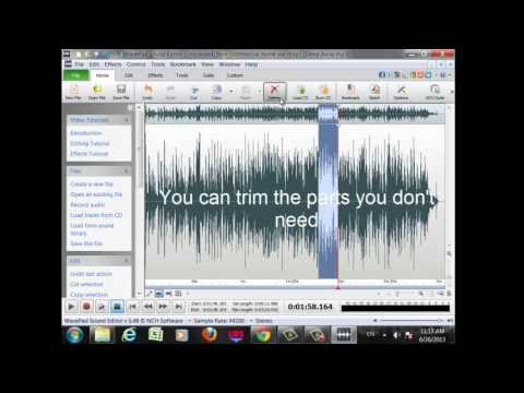 How To Download WavePad Sound Editor