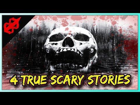 4 True Scary Horror Stories - Basement, Paranormal, Dark Highway, Creepy Neighbor Stories