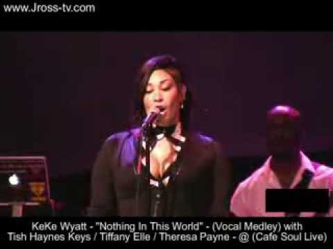 "James Ross @ KeKe Wyatt - ""Nothing In This World"" - (Vocal Medley With BGV's) - www.Jross-tv.com"