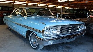 1964 Ford Galaxie 500 Original 390 V8 - Startup and Walkaround
