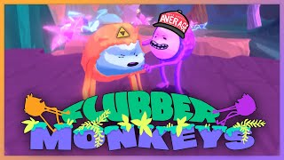 With our powers combined...FLUBBER (monkeys)! Spandex never looked so good!