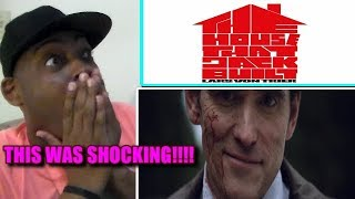 THE NEW AMERICAN PSYCHO!!! THE HOUSE THAT JACK BUILT Official Trailer REACTION!!!