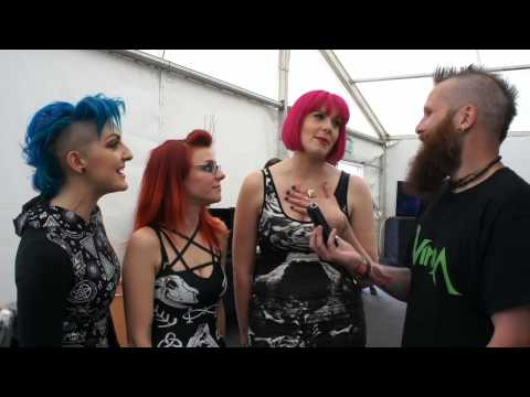 The Lounge Kittens Download Festival Interview 2015