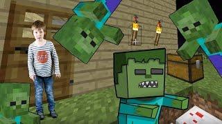 #Minecraft Ölümcül Arena bilgisayar oyunu. Tank Zombi'ye karşı. #Türkçeizle! Erkekçocuk oyunları