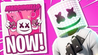 Fortnite MARSHMELLO EVENT WAS INCREDIBLE! *ACTUAL MUSIC*