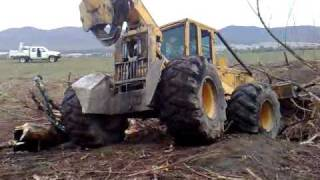 Stuck john deer skidder take 2