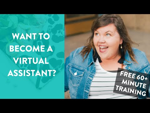 Make BANK as a Virtual Assistant (FREE TRAINING!)