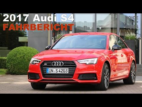 2017 Audi S4 Fahrbericht | Test - Review - Probefahrt - Meinung - Kritik | Voice over Cars