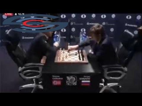 Tie Break # 04   Sergey Karjakin vs Magnus Carlsen   World Chess Championship 201