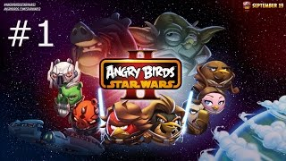 Angry Birds: Star Wars 2 - Naboo Invasion: Bird Side: ALL LEVELS! (Gameplay + Commentary) [iOS]