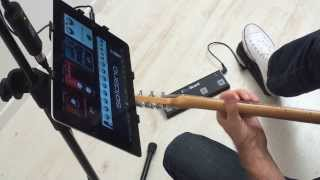 See The Irig Blueboard App On Ios In Action - Take Control Of Your Music Apps & More From The Floor!
