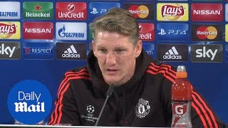 Bastian Schweinsteiger Plays Down Utd's 'pressure' Situation   Daily Mail