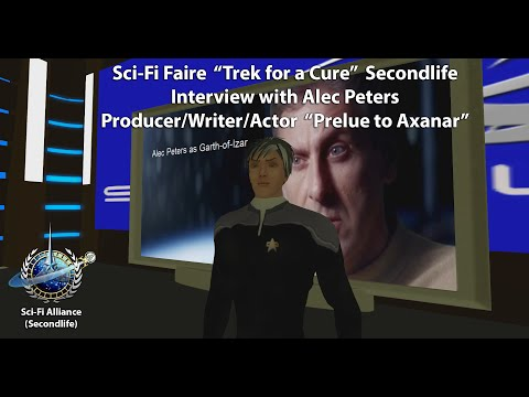 """Alec Peters interview at the Sci Fi faire """"Trek for a Cure"""" Event"""
