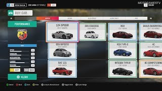 Forza Horizon 4 - All Cars from Autoshow (21.09.2018) + Upgrade Heroes