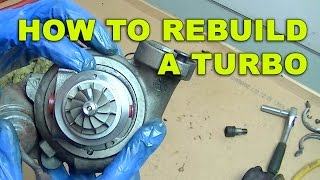 How to Rebuild a Turbo on a Ford Focus 1 6 TDCI