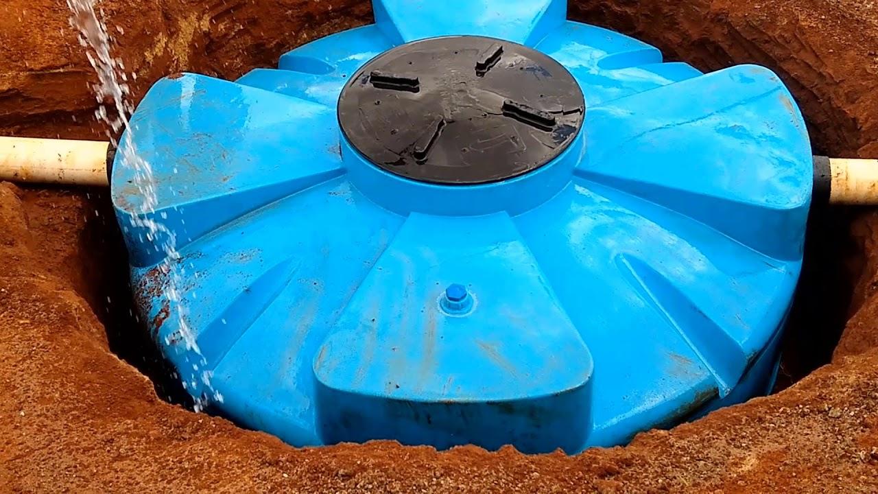 Download #55- Como fazer o aterramento do  reservatório de água da chuva (cisterna)